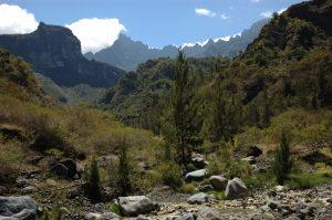 Cirque de Cilaos :: the Bras Rouge valley :: les Salazes ridge