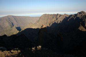 Piton des Neiges :: le Grand Bénare, Col du Taïbit, Gros Morne