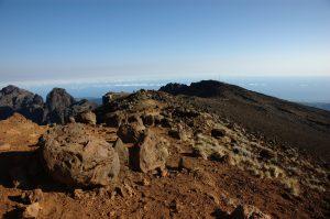 Piton des Neiges :: the top ridge