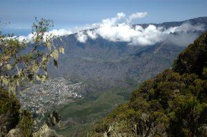 Cirque de Cilaos :: the caldera edge :: the aerial view of Cilaos