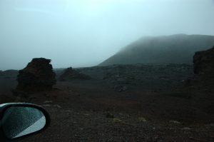 le Volcan :: Plaine des Sables :: horizontal rain