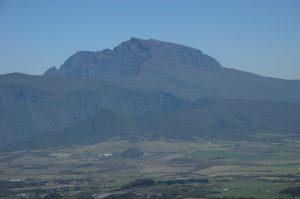 le Volcan :: above Plaine des Cafres :: Piton des Neiges zoomed