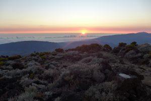 Piton des Neiges :: the sunrise